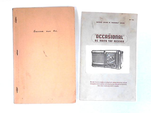 2 Communications Receiver Manuals by NA