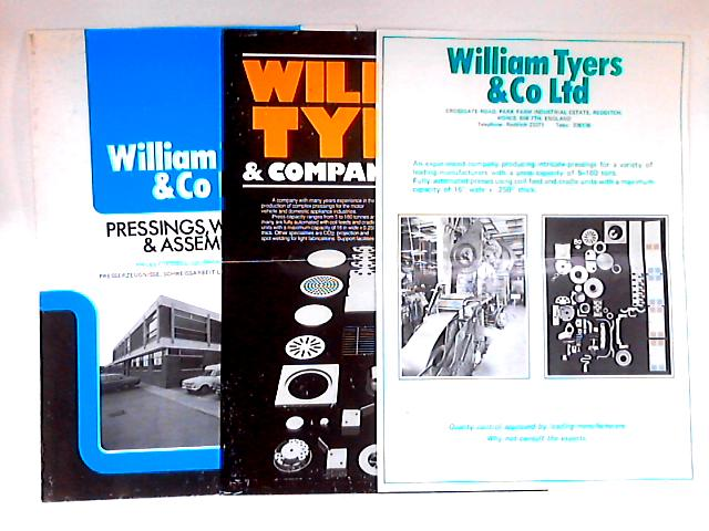 William Tyers & Co. Pamphlets by NA
