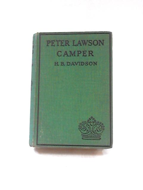 Peter Lawson, Camper by H. B. Davidson