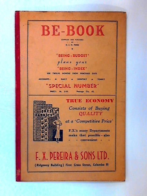 Be-Book by H. J. M. Peiris