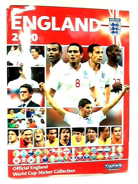 Official England World Cup Sticker Collection 2010 by NA