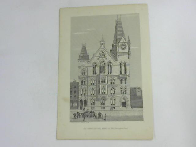 The Congregational Memorial Hall, Farrigdon Street by NA