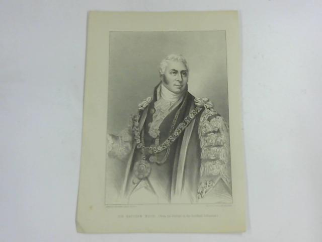 Sir Matthew Wood, (From The Portrait in the Guildhall Collection) by Machure & Macdonald