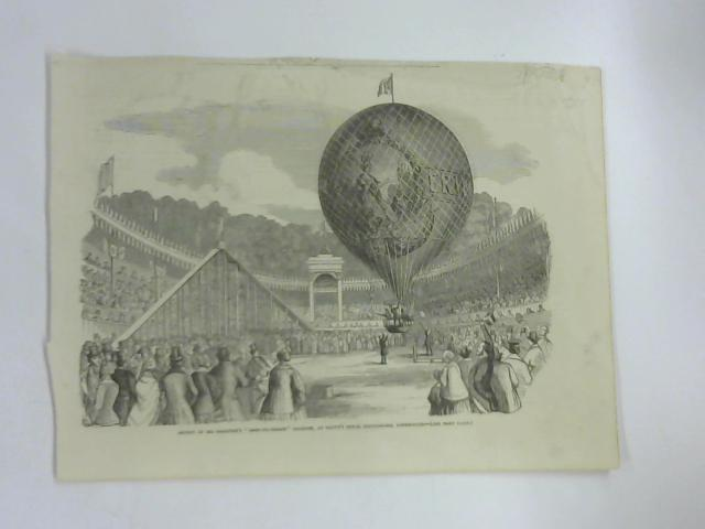 "Ascent Of Mr. Hampton's ""Erin-Go-Bragh"" Balloon, At Batty's Royal Hippodrome, Kensington by NA"