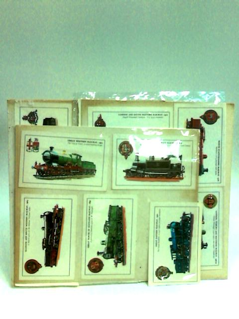 Postcards of Trains (Colourmaster Inteernational, Collector Series) by NA