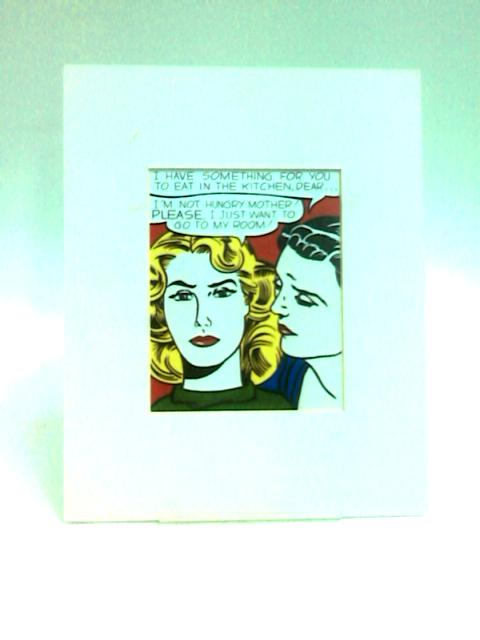 I Have Something For you to Eat in the Kitchen, Dear (Print) by Lichtenstein, Roy
