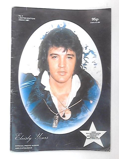 Elvisly Yours No 4 Limited Edition 1981 By Various