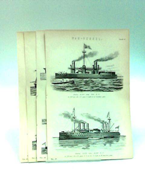 War Vessel Book Plates by NA