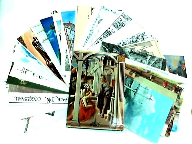 Collection of 30 Illustrated Postcards by NA