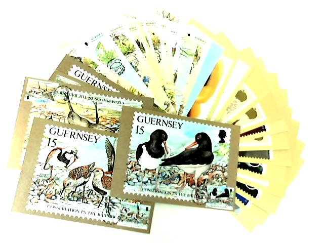 30 Stamp Postcards by NA