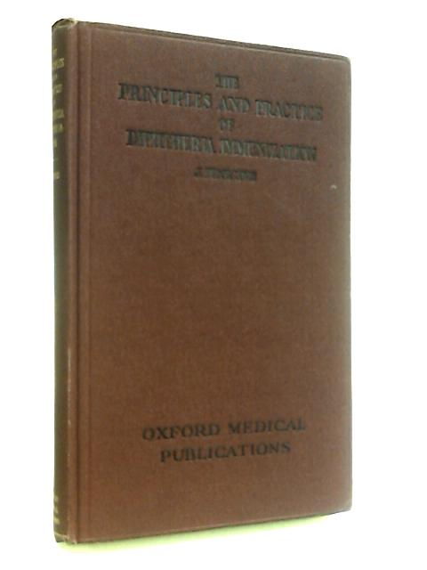 Principles and Practice of Diphtheria Immunization by Lewis, J. Tudor.