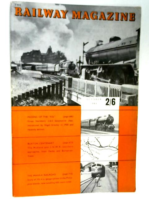 The Railway Magazine October 1963 by B. W. Cooke (ed)