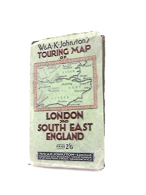 Touring Map of London and South East England by Various