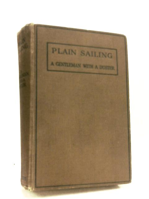 Plain Sailing by Gentleman with a Duster