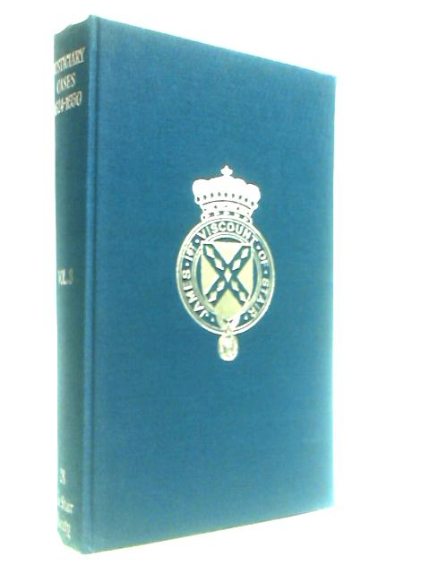 Selected Justiciary Cases Vol.III 1624-50 by Smith, J. Irvine.