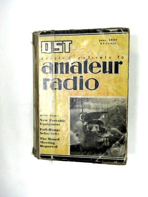 QST Amateur Radio 1937 by Various