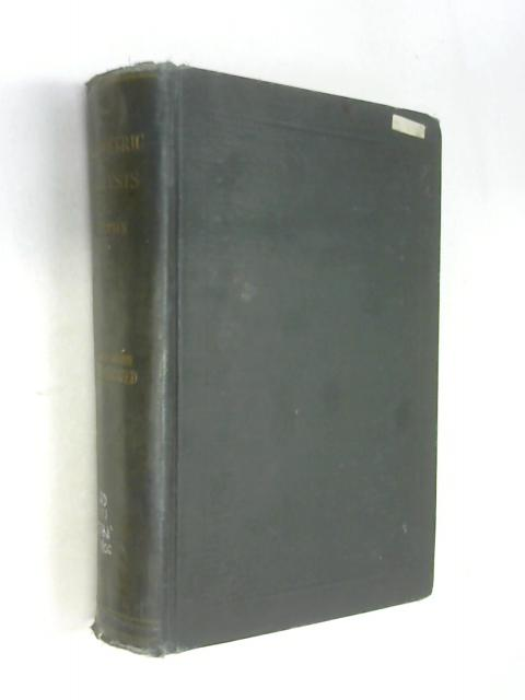 A systematic handbook of volumetric analysis: Or, The quantitative estimation of chemical substances by measure, applied to liquids, solids and gases by Francis Sutton