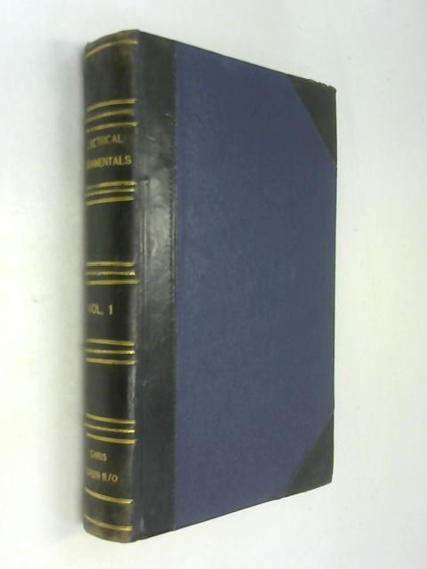 Electrical Fundamentals. Vol. I. By G. R. Noakes
