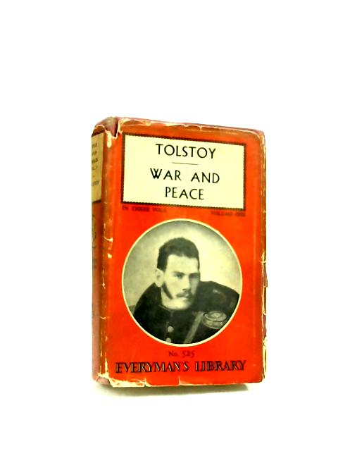 War and Peace. Volume One By Tolstoi, Leo