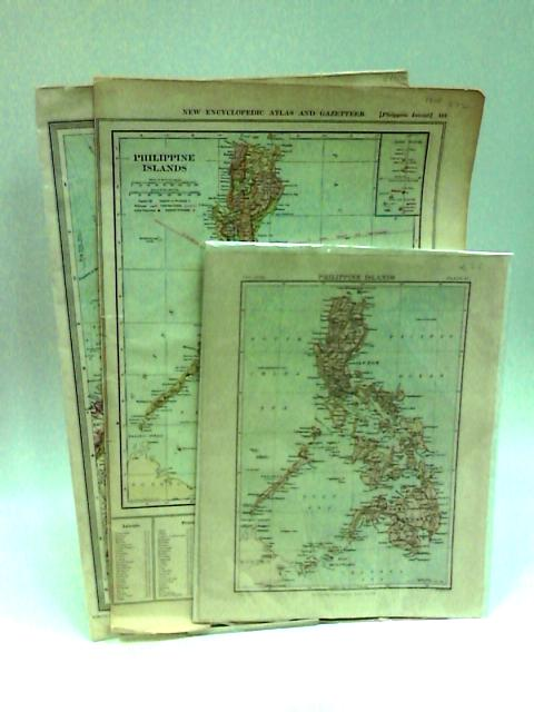 Maps of the Philippine Islands (Book Plates) by NA
