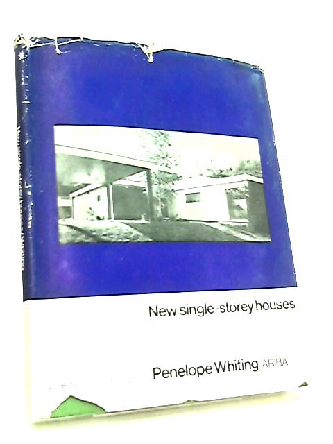 New Single-Storey Houses by Penelope Whiting