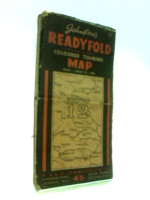 Readyfold Coloured Touring Map, Section 12 by Johnston