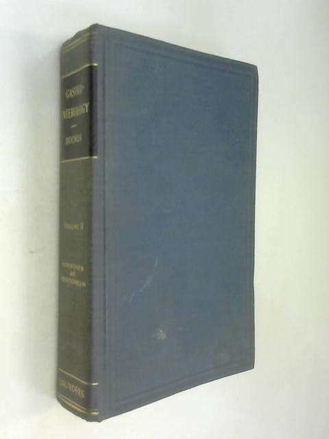 Gastro-Enterology Vol. II by Henry Bockus