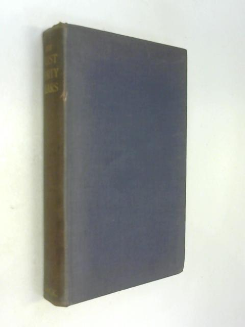 The first Forty Years A Chronicle of the Church of England Waifs and Strays Society 1881 1920. by Anon