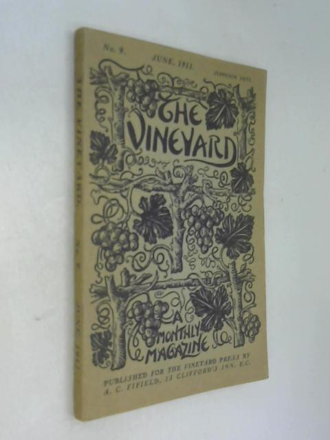 Vineyard magazine no 9 june 1911 by Anon