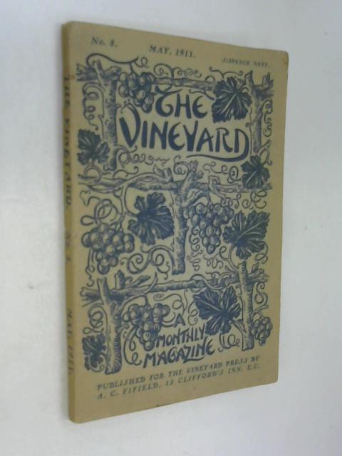 Vineyard magazine no 8 may 1911 by Anon