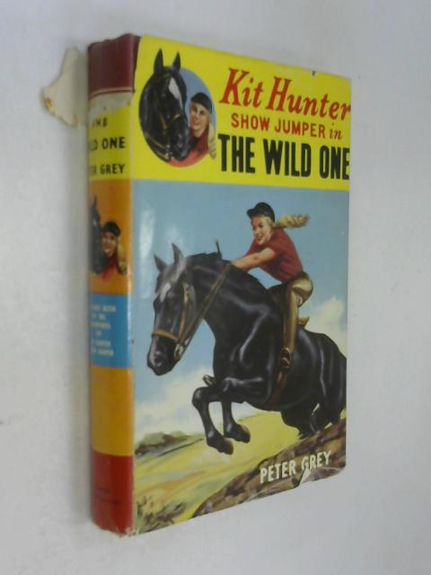 Kit Hunter Show jumper in The Wild One by Peter Grey