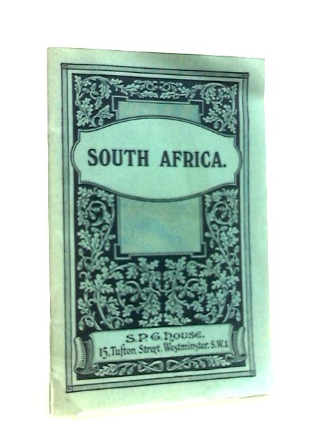 South Africa S. P. G. handbook by Anon