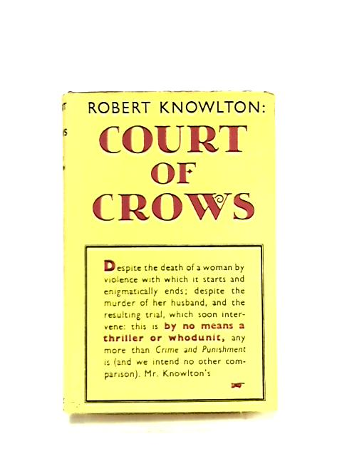 Court of CRows by Robert Knowlton