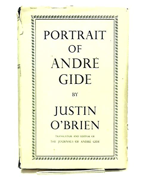 Portrait of Andre Gide by Justin O'Brien