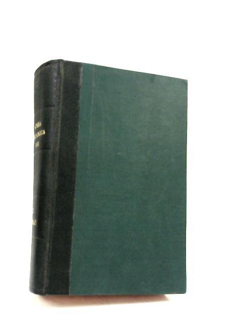 Summa Theologica Volumen Tertium by Unknown