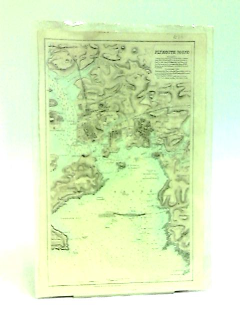 Map of Plymouth Sound (Book Plate) by Swanston, G. H.