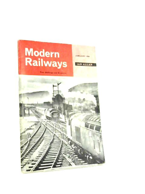 Modern Railways. Vol. XVIII, No. 184 By Editor G. Freeman Allen