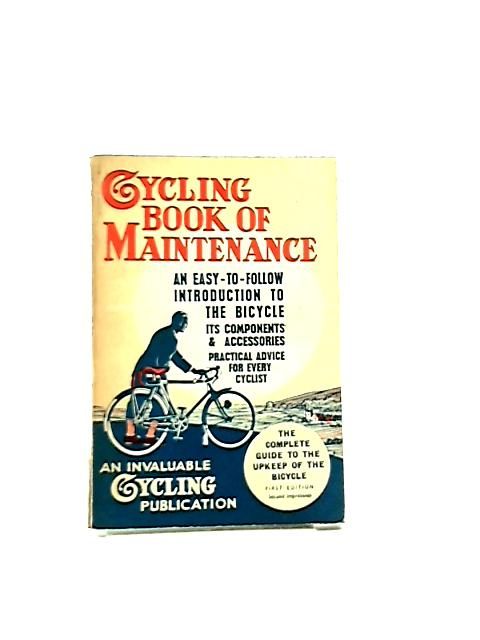 Cycling Book Maintenance by Anon