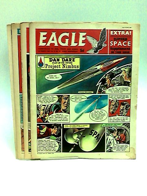 Eagle. Companion To Girl, Swift And Robin Vol.II Nos.10-13 March, 1960 by Various
