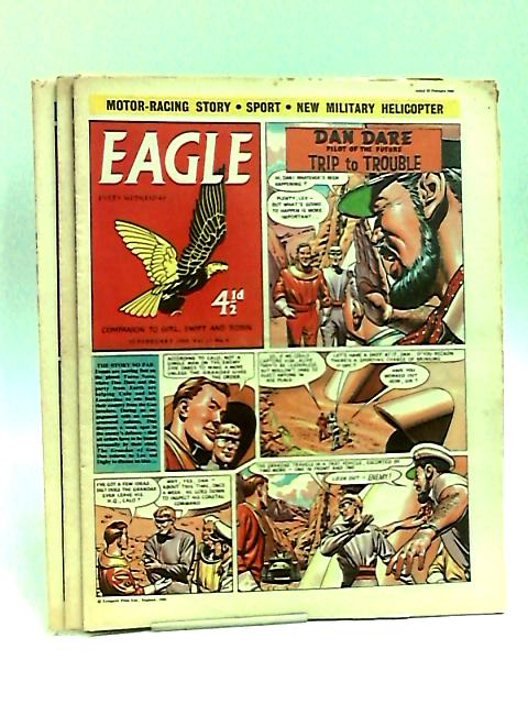 Eagle. Companion To Girl, Swift And Robin Vol.11 Nos.6-8 February, 1960 by Various