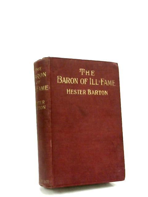 Baron of Ill Fame By Barton, H.
