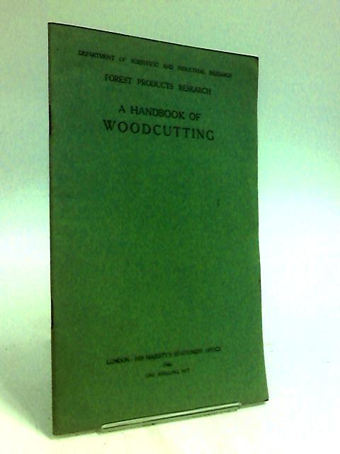 Handbook of Wood Cutting By Harris, P.