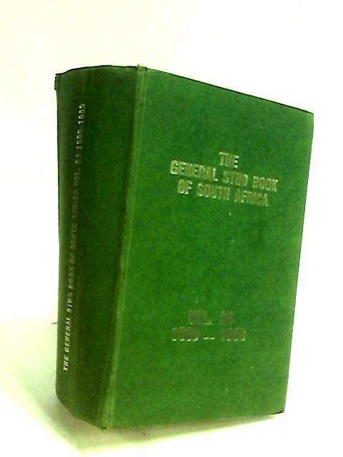 General Stud Book of South Africa Vol. 24 by Anon