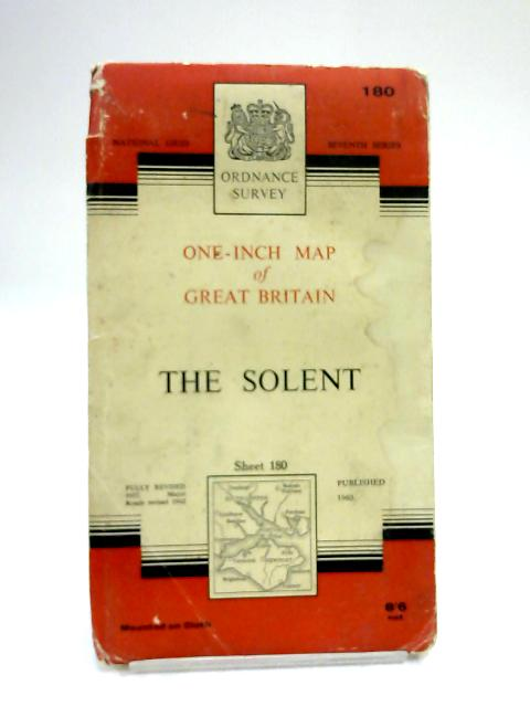 One-Inch Map of The Solent Sheet 180 by Ordnance Survey