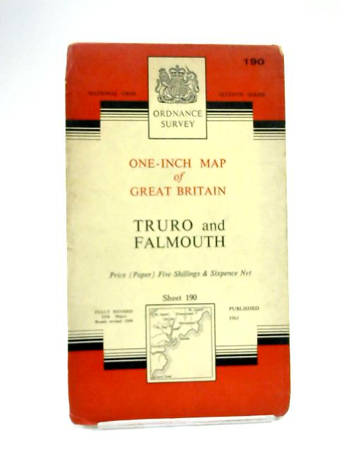 One-Inch Map of Truro & Falmouth by Ordnance Survey