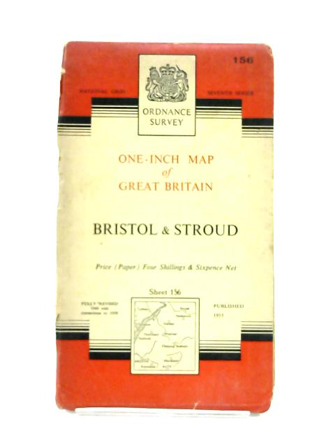 One-Inch Map of Bristol & Stroud by Ordnance Survey