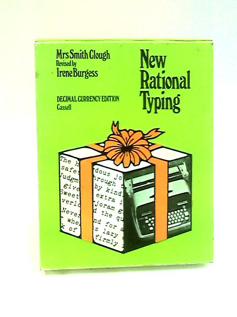 New Rational Typewriting by Clough, Mrs.Smith