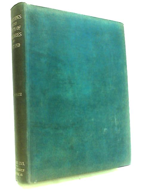 Proceedings of the Society of Antiquaries of Scotland: 1921-1922: Volume LVI, Fifth Series, Volume 8 By Anon