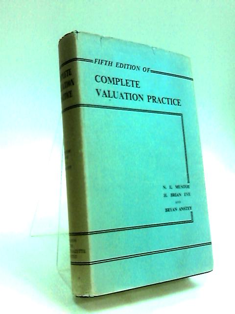 Complete Valuation Practice by Mustoe, N. E.