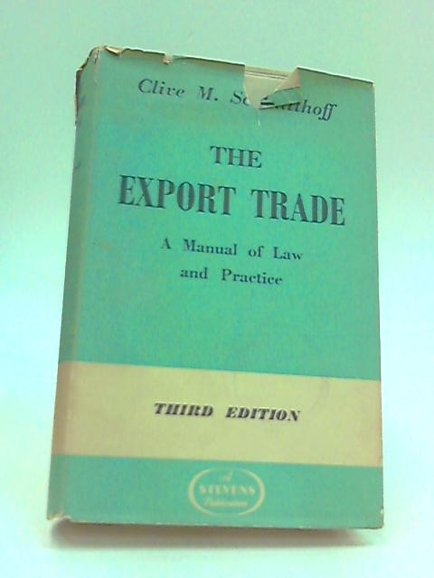 Export trade by Schmitthoff